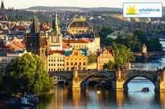 Prag - Die goldene Stadt! www.schulfahrt.de #Prag #Skyline #Schulfahrt
