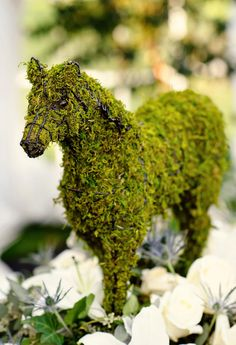 Moss Topiary | 10 Wedding Ideas You've Never Seen Before | https://www.theknot.com/content/ideas-youve-never-seen-before