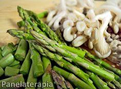 PANELATERAPIA - Blog de Culinária, Gastronomia e Receitas: Gratinado de Frango, Shimeji e Aspargos