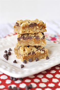 Dulce de leche bars - These look SO good!!!