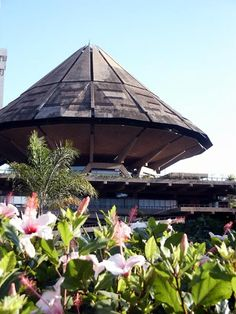 Nairobi - The building at Kenyatta Conference Centre where our graduation ceremonies were held for many years.  I always thought it looked like a UFO  lol