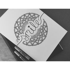 Espero les guste❣️ Black&White #dibujandoconmariann #zen #tangle #mandalas #art #artist #mandalaart #blackandwhite