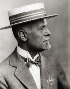 Portrait with Straw Hat, 1920c
