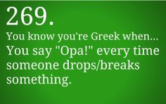 The real reason I married a Greek. Greek Memes, Funny Greek Quotes, Funny Quotes, Greek Girl, Greek Language, My Motto, Lol, Different Quotes, Photo Quotes