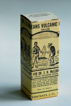 Volcanic oil liniment  by Letterologist, via Flickr