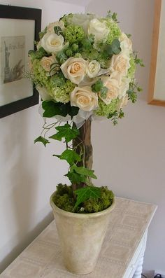 Real Roses Topiaries | seafood cruise mooloolaba wedding ceremony reception venue decorations