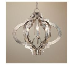 Clarissa Glass Drop Small Chandelier | Pottery Barn - chandeliers - bburgis