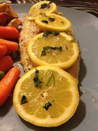 The Bachelor's Cookhouse: Garlic Baked Basa Fish