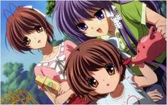 The Clannad saga finally comes to an end, at least for now. The first Clannad series was touching, but in my opinion, After Story is where the series really shines. I& already written my genera. Clannad Anime, Sad Anime, Anime Manga, Anime Art, Clannad After Story, Pokemon, Kyoto Animation, Familia Anime, Popular Anime