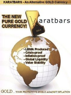 The new pure gold currency : your protective shield against inflation. Learn more on : http://karatbarsbusinessowners.com