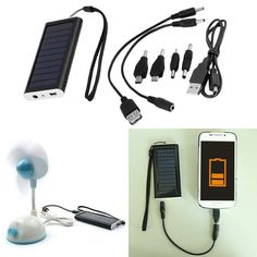 Portable Solar AC Power Bank Battery Charger USB for Cell Phone Promotion 12v Solar Panel, Solar Panel Kits, Portable Solar Power, Portable Solar Panels, Portable Phone Charger, Solar Charger, Luxury Landscaping, Landscaping Company, Ac Power