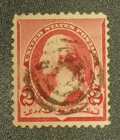"TJS: Scott 220 ""1890 2c WASHINGTON Stamp"" SMQ $160 *NO RESERVE*"