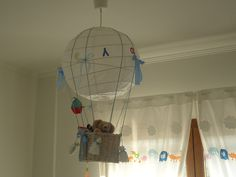 Πως να φτιαξετε ευκολα φωτιστικο για το παιδικο δωματιο! Handmade by Andrea ! | SuperMomRocks