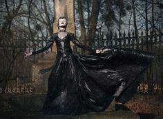 Photographer: Daniel Matras Designer: Justyna Waraczyńska-Varma Makeup: Renata Bator Model: Karolina CaradelNeil Kumorek