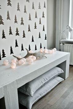 Lamp Garlands #christmas #decoration