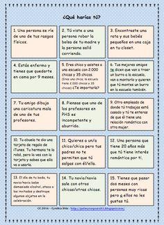 Teaching Spanish w/ Comprehensible Input: Novels: Making Connections and Comprehension Checks / TPRS novel Frida Kahlo Spanish Lesson Plans, Spanish Lessons, Teaching Spanish, Ap Spanish, How To Speak Spanish, Learn Spanish, Spanish Classroom Activities, Listening Activities, Spanish Conversation