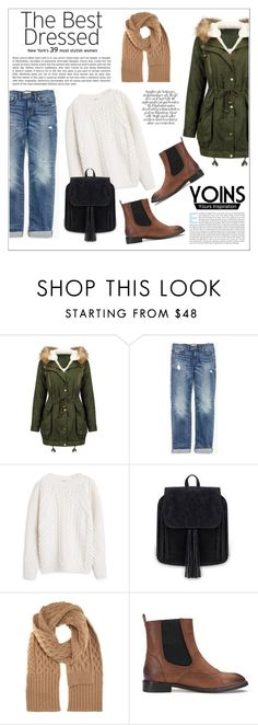 """""""Yoins"""" by water-polo ❤ liked on Polyvore featuring Madewell, MANGO, Maison Margiela, polyvoreeditorial and yoins"""