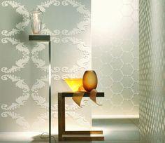 visual texture wall coverings