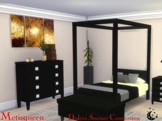 For all of you that loved my Dulces Suenos Bedroom for sims 3, now you can love it for Sims 4! Snooze your stress away in this carefree, relaxing bedroom. Included are 9 original objects and 3...