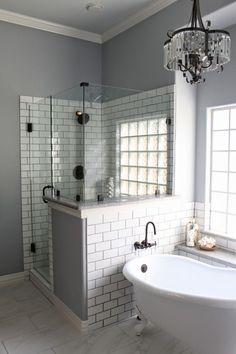 faience salle de bain pas cher imitant marbre