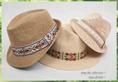 On the Brim: Collection of Fedoras at Buckle.com