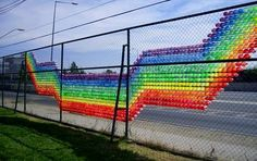 fence weaving