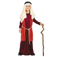 Disfraz de San José infantil #disfracesnavidad #disfracesnavideños