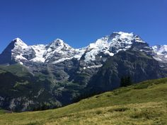 Mit dem Bike nach Mürren tolle Aussicht auf Eiger Mönch und Jungfrau & Eiger Mönch and Jungfrau Switzerland [3923x1691] by Jackph ... pezcame.com