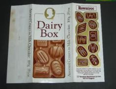 Dairy Box Bar - 10 different fillings in one bar #rowntree #dairybox #chocolate #sweets #1970s