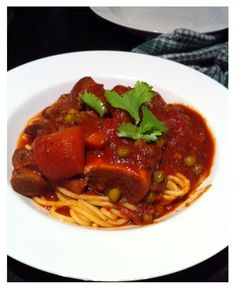 Osso Bucco Spaghetti, Ethnic Recipes, Food, Meals, Yemek, Noodle, Eten