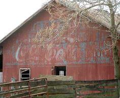 Coca Cola Barn-                        About 6 miles south of Culpeper, on.US 29,North bound lane.  Culpeper Co - VA