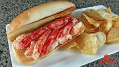 Butter Poached Chilean King Crab Rolls Recipe