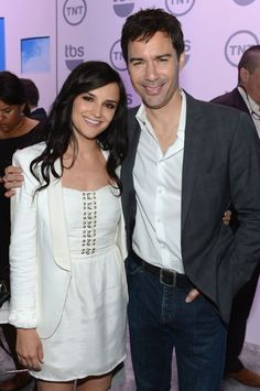 Rachael Leigh Cook and Eric McCormack