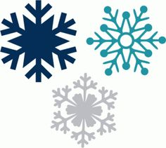 Looking for a good snowflake? We have several in the Silhouette library! Check them out!