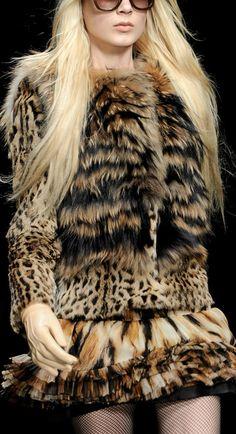 Roberto Cavalli Fall 2012 ~ Milan Fashion Week