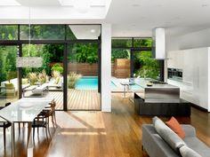 kitchen dining living open plan design by superkul