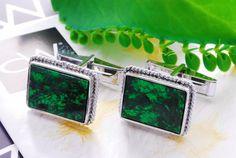 Exotic Mawsitsit silver cufflinks