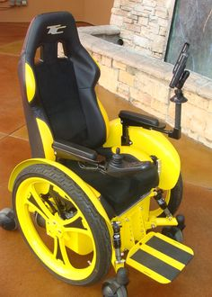 Yellow Wheelchair Hover Round Chairs 70 Best Wheelchairs Images Accessories Adaptive Amy Was Confined To A And Needed Assistance In Order Get Around School