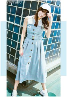 Dress Skirt, Shirt Dress, Tokyo Fashion, Japanese Fashion, Dress Outfits, Dresses, Fashion Pants, Short Skirts, Asian Beauty