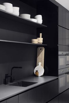 #kitchen #blackkitchen