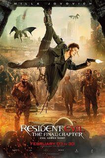Resident Evil The Final Chapter 2016 Dual Audio Hindi English 300mb Bluray 480p 1gb 720p Original Print Resident Evil Movie Series Resident Evil Resident Evil Movie