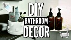 Spa Bathroom Decor, Diy Room Decor, Bathroom Towels, Cheap Bathroom Makeover, Diy On A Budget, Hairstyles, Nails, Decorating Ideas, Youtube Subscribers