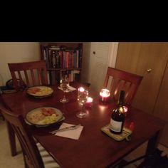 Surprise candlelight dinner :)
