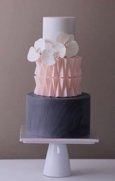 Featured Wedding Cake: Crummb; http://crummb.com; Wedding cake idea. #weddingcakes