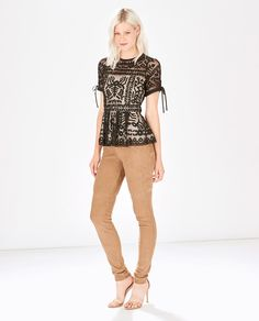 PARKER- Shannon Top Flare Top, Fit And Flare, Parker Ny, Peplum, Capri Pants, Blouse, Sleeves, Tops, Women