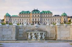 Photograph-Upper Belvedere Palace, Vienna, Photo Print expertly made in the USA Vienna Palace, Baroque Architecture, Beautiful Architecture, Neoclassical Architecture, Monuments, Places To Travel, Places To Visit, Landscape Concept, Landscaping