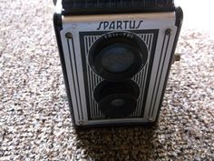 Vintage 1950s Spartus Full Vue Box Camera 120 Film Old Colectible USA Nice #Spartus