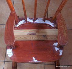 A csodafesték (chalk paint) készítése Konica Minolta, Furniture Makeover, Chalk Paint, Diy And Crafts, Projects To Try, Woodworking, Chair, Furnitures, Digital Camera