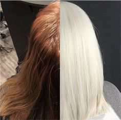 COLOR CORRECTION: Home Boo-Boo To Ice White - Hair Color - Modern Salon