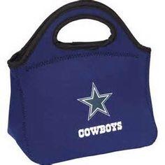 DALLAS COWBOYS NEOPRENE HANDLED ZIPPER KLUTCH BAG FROM KOLDER #KolderInc #DallasCowboys
